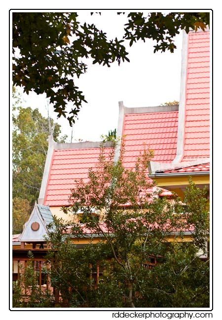 The different roof levels are interesting: Buddhist Association of North Carolina