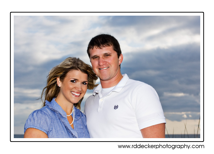Devin & Jordan on Atlantic Beach, North Carolina