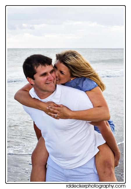 Love and rommance on the beach along North Carolina's Crystal Coast