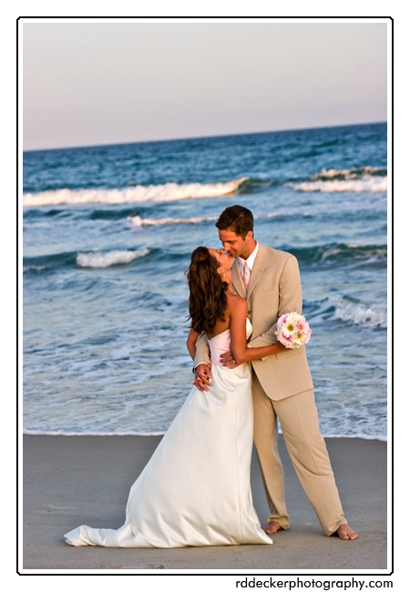 Exotic Beach Wedding Location, Close to Home: North Carolina's Crystal Coast. Coastal communities include Jacksonville, Swansboro, New Bern, Havelock, Oriental, Morehead City, Atlantic Beach, Emerald Isle, Salter Path, Indian Beach, Pine Knoll Shores, Harkers Island, Cedar Point and Beaufort.