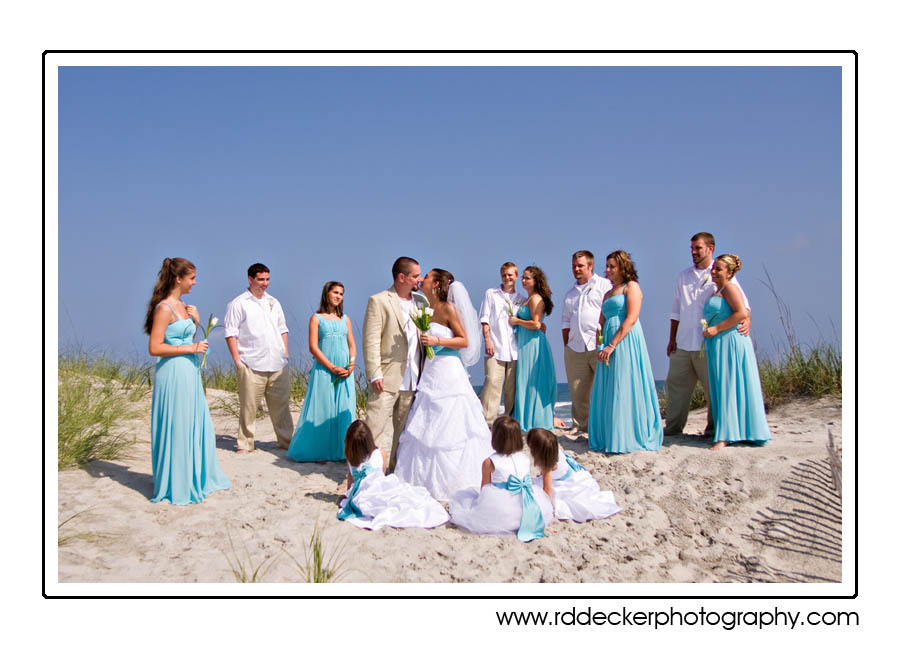 May 30, 2009 wedding at Visions Nuptials by the Sea, Atlantic Beach, North Carolina
