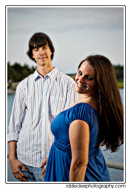 Beaufort by the Sea is a wonderful location for engagment and portrait sessions.