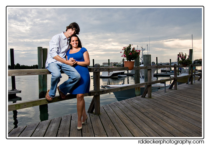 Taylors Creek serves as safe harbor for may picturesque saliboats and makes a great background for portraits.