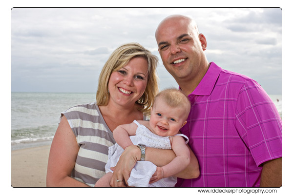 Family Portraits on Atlantic Beach