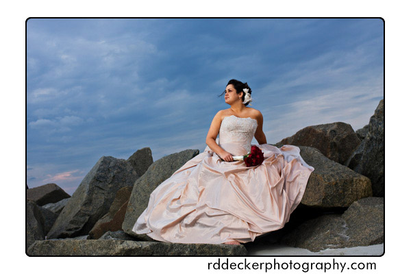 Eastern NC Bridal Session